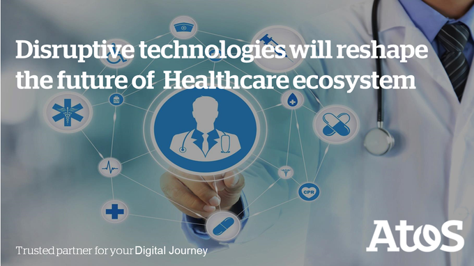10 disruptive #technologies will reshape the future of #Healthcare. Want to know more?...