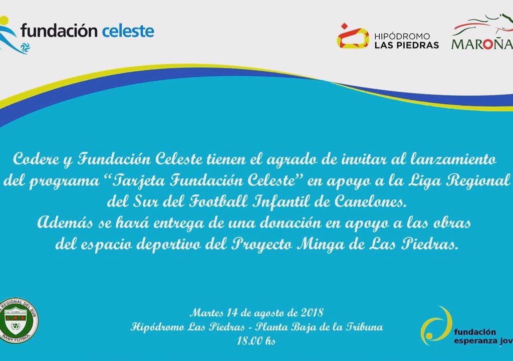 Fundación Celeste On Twitter Este Martes 14 En El