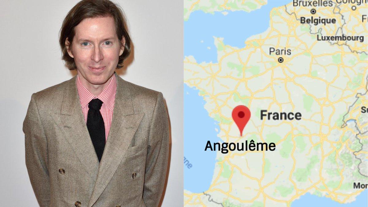 Le prochain film de Wes Anderson sera tourné à Angoulême -  https://t.co/gmToSqrEHv