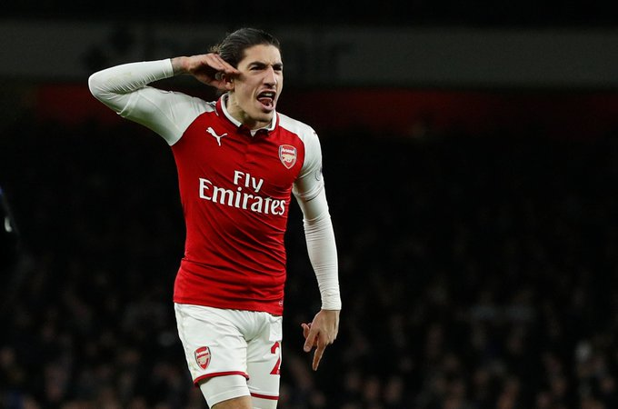 Hector Bellerin insists Arsenal have improved the summer despite defeat to Manchester City #AFC #ARSMCI ... Photo