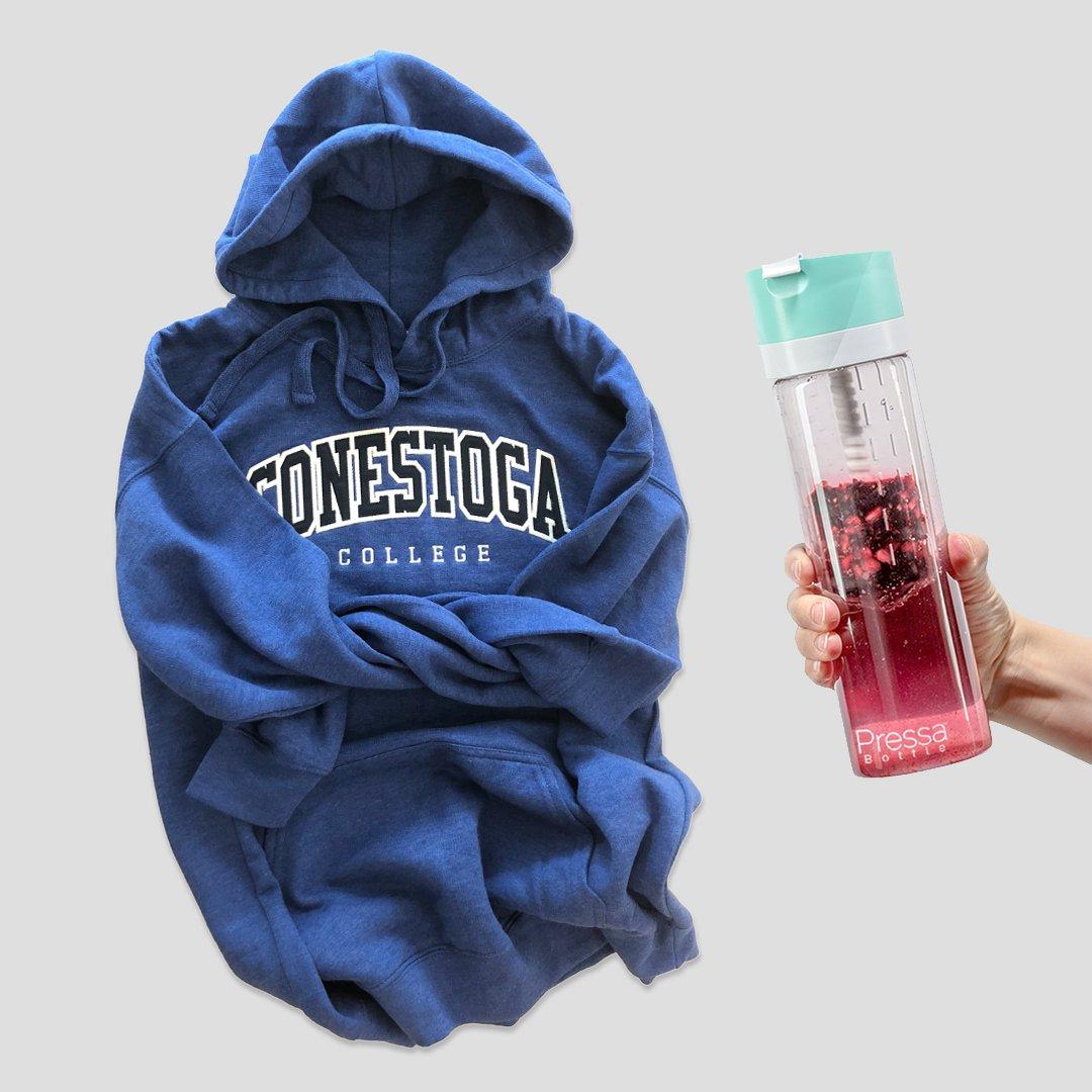 We're giving away a Pressa bottle and a sweatshirt. Enter our Instagram contest here  https://www. instagram.com/p/BmbFfUPFH2l/ ?taken-by=thinkconestoga &nbsp; … <br>http://pic.twitter.com/4ziXR9fzUH