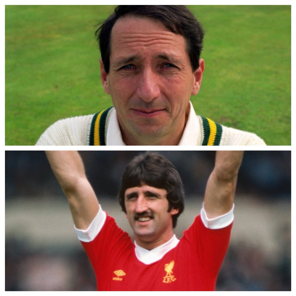 Absolutely delighted that the former Nottinghamshire CCC & England cricketer Derek Randall + the former Everton, Ipswich, Liverpool & England footballer David Johnson will now be joining us on Norfolk's biggest ever celebrity charity golf day, next month, at @barnhambroom !