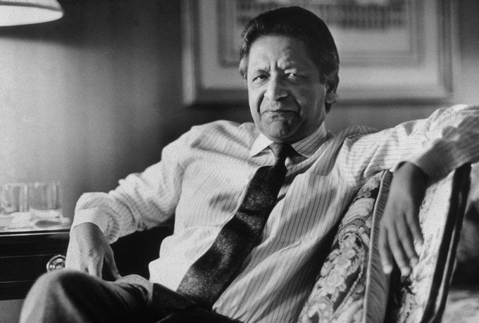 """Fiction never lies. It reveals the writer totally."" Rest in peace, Naipaul. Photo"