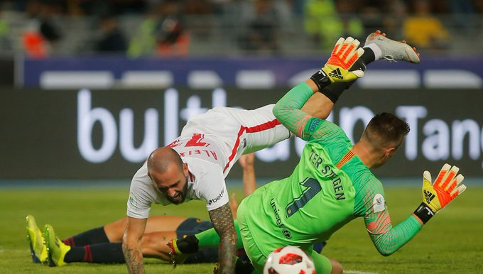 Alfredo duro y Jose Luis Ultra sur Sánchez :  El penalti de ter Stegen es tarjeta Roja ¡Y todos contentos! Foto