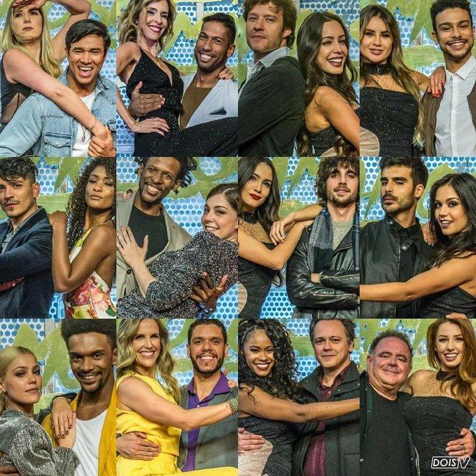 Um time maravilhoso!!!! Regrann from doistv - Chegou a hora de mais uma edição da #DançadosFamosos e os doze participantes foram anunciados ontem para nossa alegria. Foto