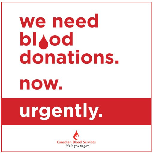There is an URGENT need for 690 blood donations in #BurlOn before Labour Day. Don't wait to take action, donate now. Visit  http://www. blood.ca  &nbsp;   to book.  #GiveLifeBurlington<br>http://pic.twitter.com/ypyAQnySJB