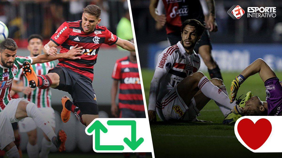 Os cães de guarda do líder e vice do Brasileirão! Mas e aí, quem é melhor? RT = Cuellar ❤ = Hudson