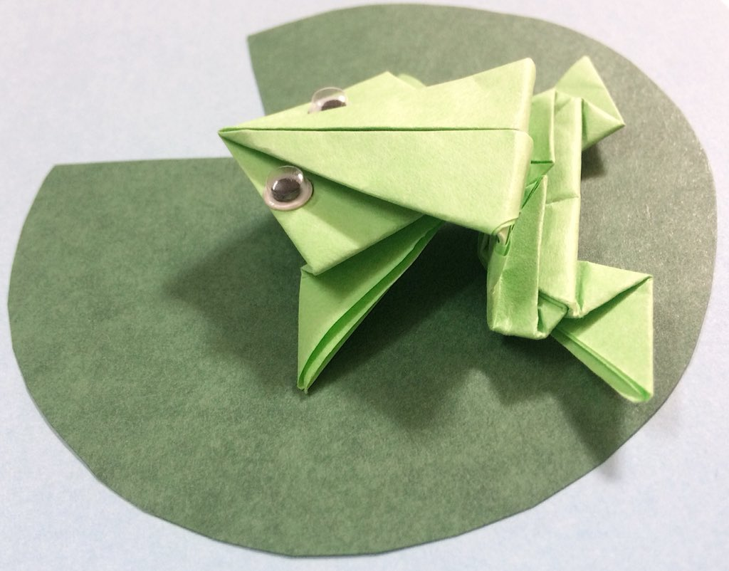 Actionorigami Photos And Hastag Origami Fireworks Diagram Art Fanatic Jumping Frog Action Origamiartfanatic Origamiartfan Origamijumpingfrog Pictwittercom