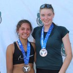Image for the Tweet beginning: Silver medal at #ovabeachtour 14U