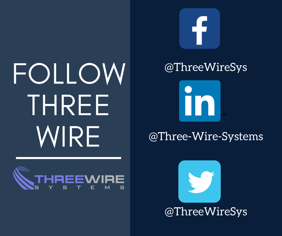 Three Wire Systems on Twitter: \