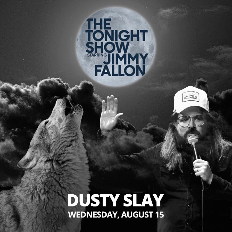 Fresh off of the Tonight Show, Dusty Slay will be headlining at The Comedy Catch next weekend. Don't miss your chance to see him live!