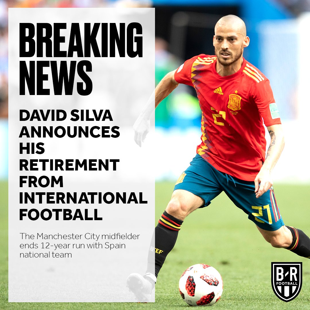 OFFICIAL: David Silva retires from international football with Spain