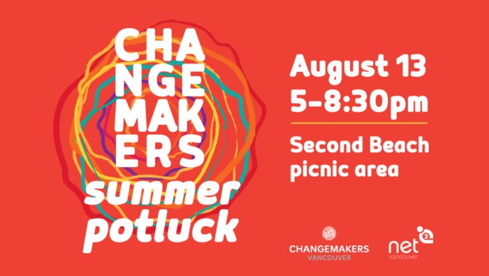 Morning #Vancouver!   Tonight is our 3rd annual Changemakers Potluck at Stanley Park. Its free and all are welcome - come &amp; bring a friend, family member and/or a dish to share.   In collab w/ @net2van   #cmpotluck #CoastSalishLove #socinn    http://www. changemakersvan.com/2018/07/change makers-summer-potluck-cmpotluck/ &nbsp; … <br>http://pic.twitter.com/sFLEy7gHRO