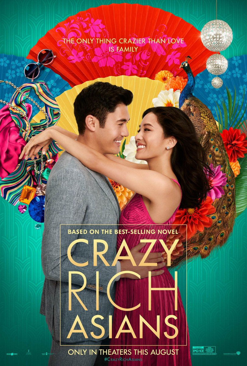 Exciting @jonmchu! 's Crazy Rich Asians opens in theaters around the county this Wednesday. Together, lets lift up this film and support it during Opening Week!