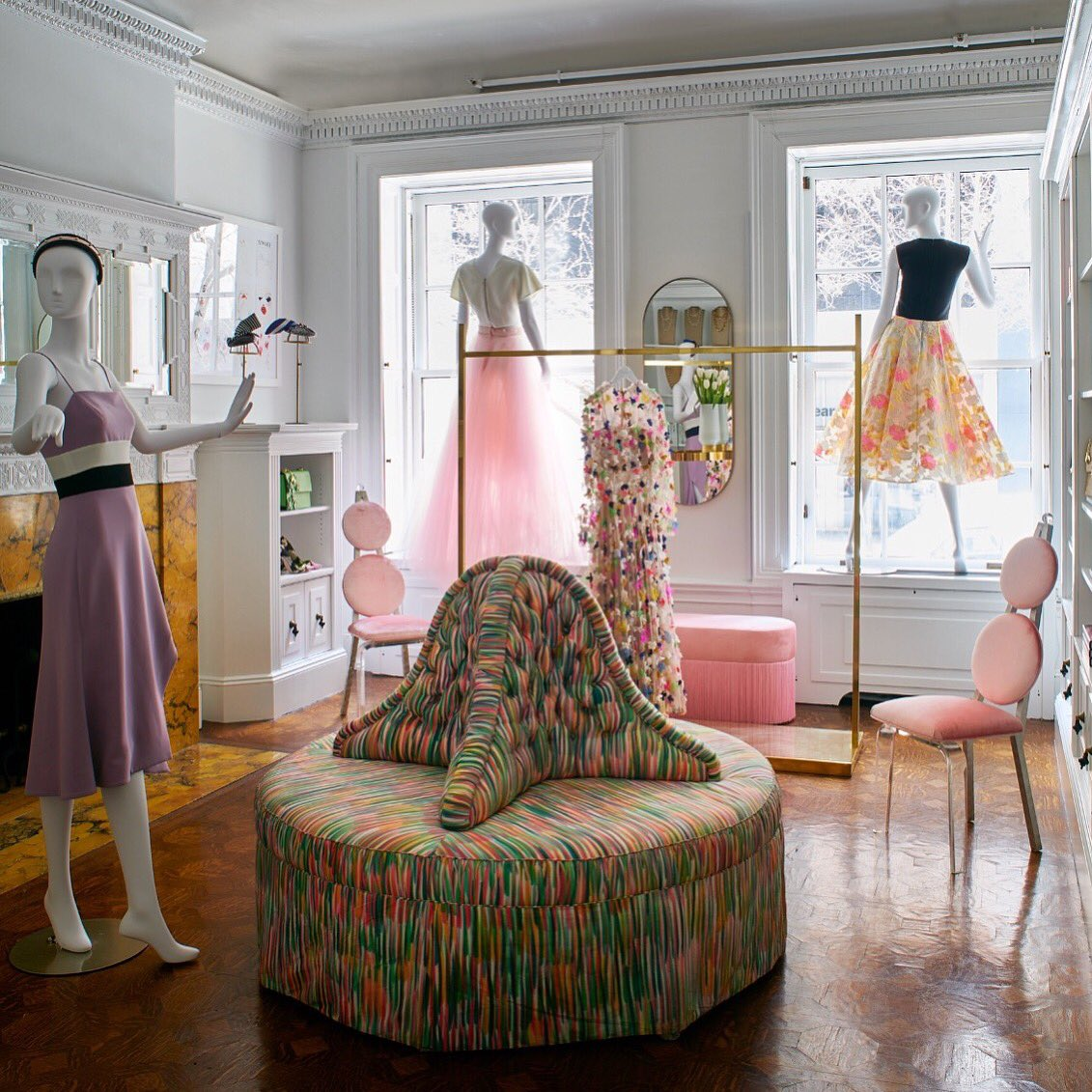 Even on a gloomy day in NYC it's still bright and beautiful in our new store @TheCuratedNYC_ today. #happymonday