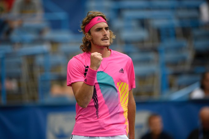 .@StefTsitsipas gives himself the best 20th birthday present ever with a new career-high ranking: 🎁 Photo