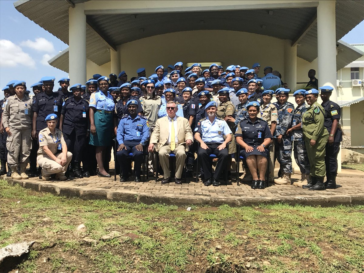 #UNPOL Female Police Officers in #UNMISS are contributing for a better future for all/ Keep up the good work and strong motivation #UN #PEACEKEEPING #OROLSI #POLICE https://t.co/8bL2yyinlq