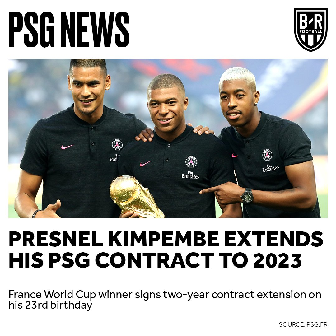 Presnel Kimpembe extends his PSG contract to 2023 on his 2️⃣3️⃣rd birthday 🎉