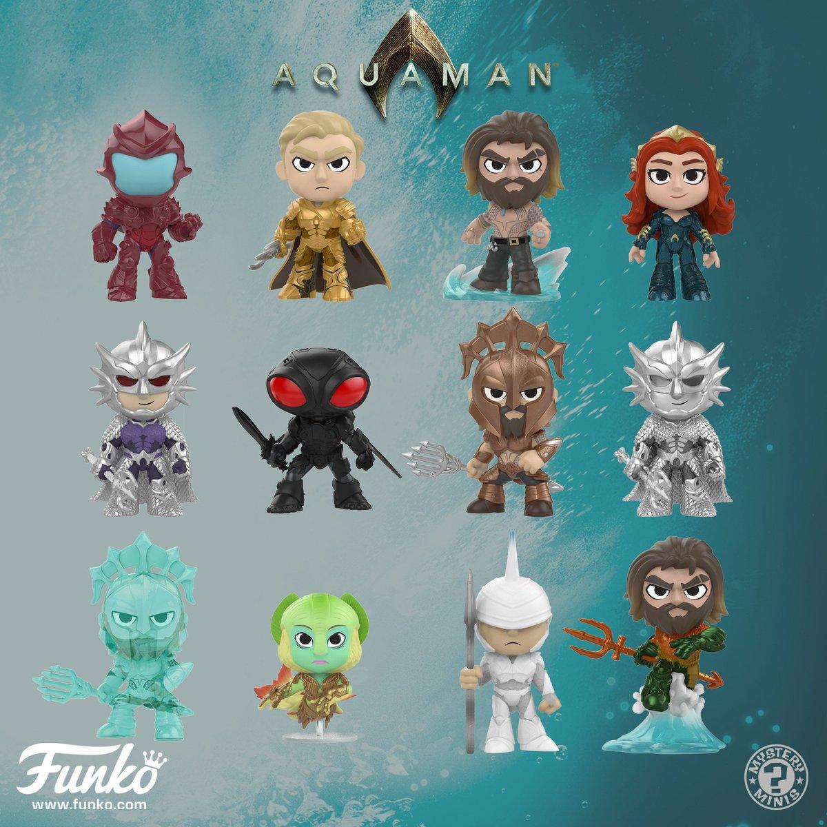Coming Soon: Aquaman Mystery Minis, Pop! Keychains and Pop! #Aquaman funko.com/blog/article/8…