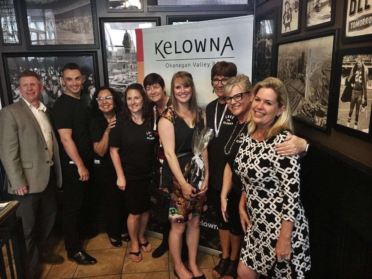 A great @PCMACEC reception with host sponsor @Tourism_Kelowna! Our Sales Manager won the supplier wine draw too! #MeetingsYukon #PCMA #IWShow #PCMAEC<br>http://pic.twitter.com/ZnOcYlJ6te