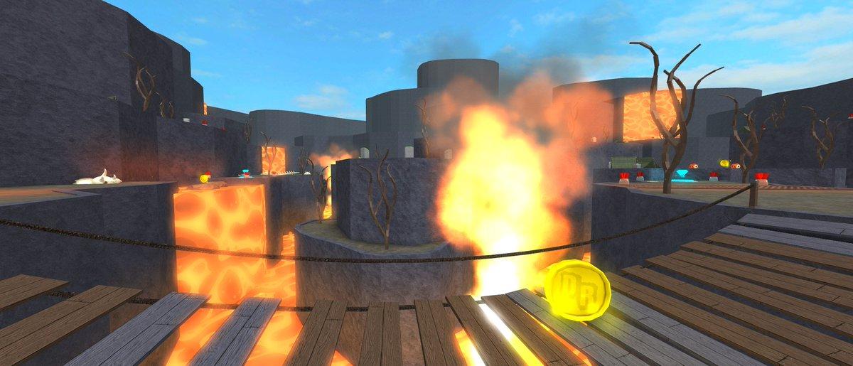 Team Upgrade Roblox - Team Deathrun On Twitter Jurassic Volcano Receives An