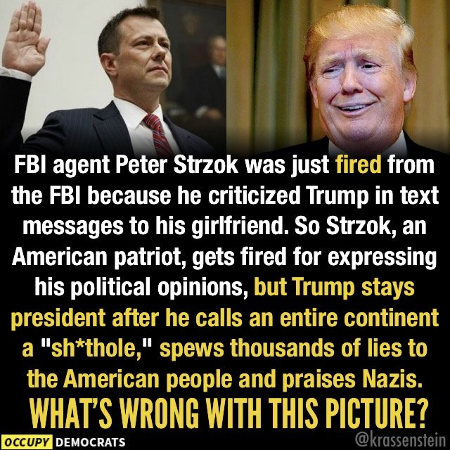 IF YOU CAN&#39;T SEE WHAT IS WRONG WITH THIS, YOU&#39;RE BLIND!   #FBI #PeterStrzok #TrumpIsATraitor #TrumpRussiaConspiracy #TrumpMustGo  #RESIST   #TheResistance<br>http://pic.twitter.com/3AmhwvNyIC