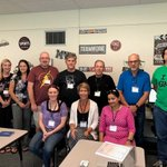 Image for the Tweet beginning: Teachers from LeRoy, Penfield, Mt