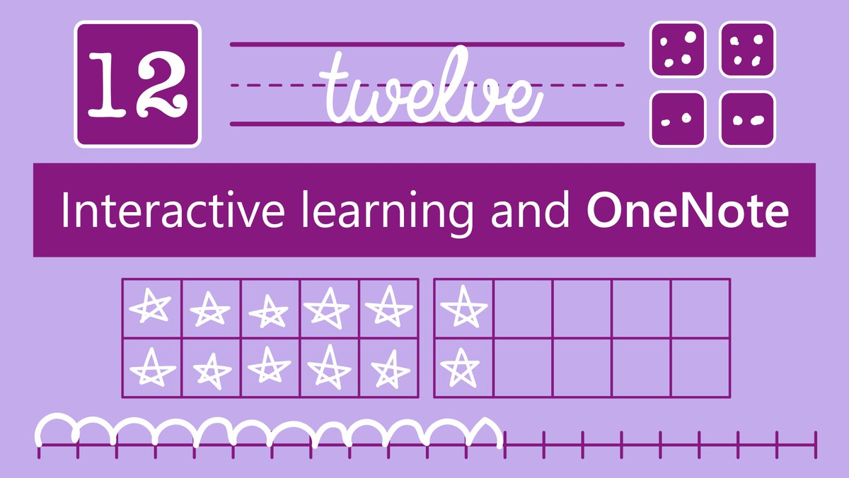 Are you getting started with #OneNote in your classroom? Try this lesson from @room20awesome, it&#39;s a simple and interactive way to teach numbers to elementary students.  http:// msft.social/JQq0E1  &nbsp;   #earlyED #MIEExpert <br>http://pic.twitter.com/YDMlNFoMaA