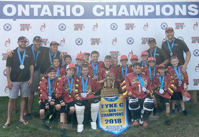 Despite competing against teams with older players, the Burlington Chiefs tyke lacrosse team won a provincial championship with an come-from-behind OT victory.  https:// bit.ly/2BfDXBw  &nbsp;  <br>http://pic.twitter.com/Tbvwxgxpwr