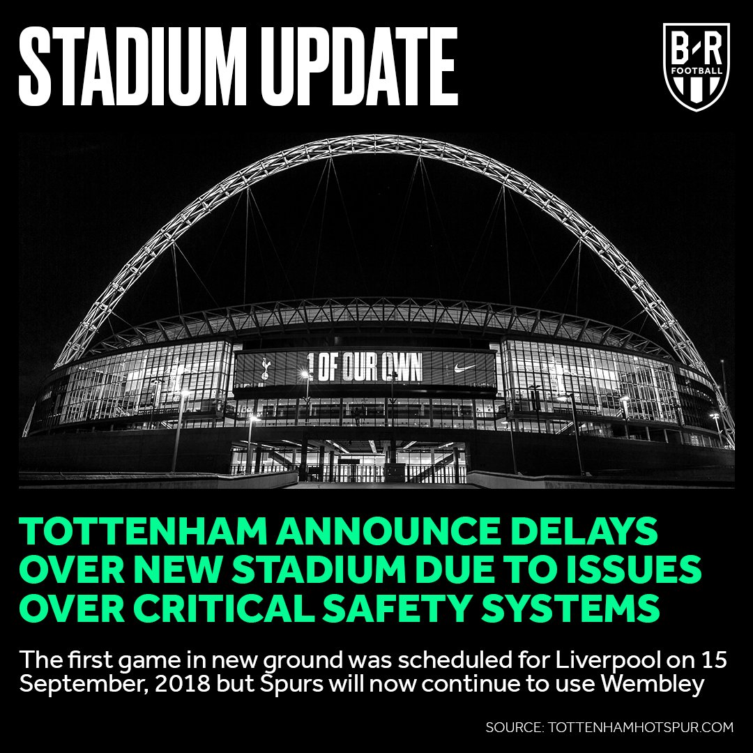 Tottenham confirm they will continue to use Wembley for the start of the Premier League 2018/19 season