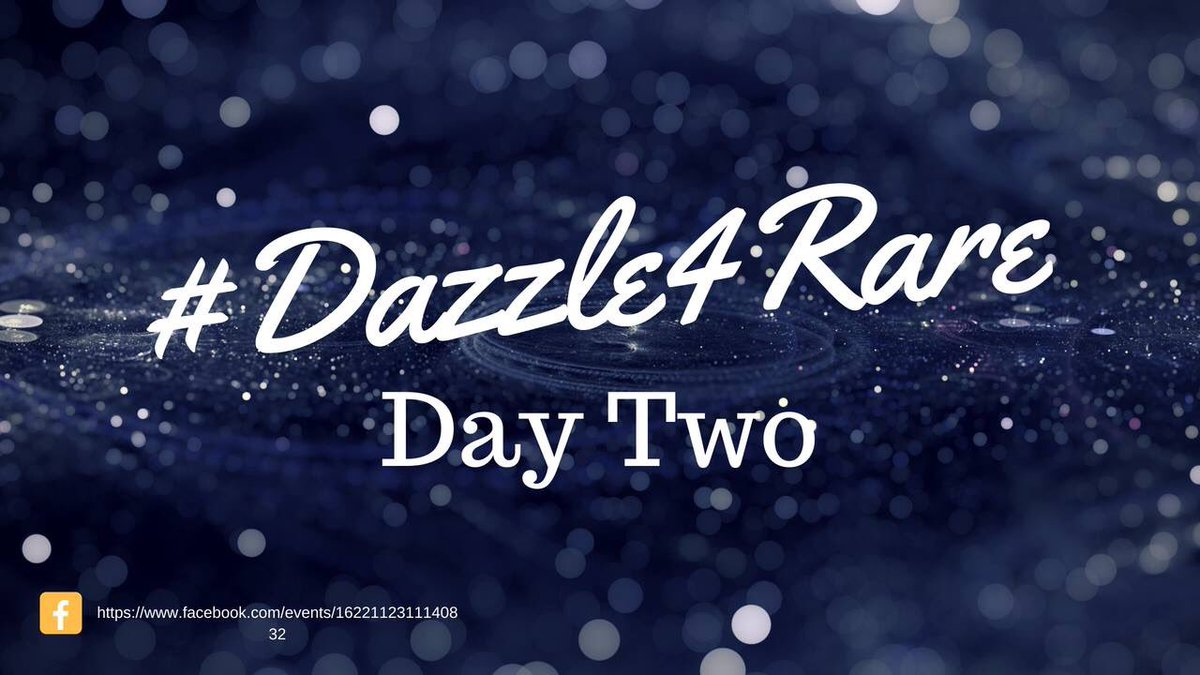 Day 2 #Dazzle4Rare fact: 80% of #rarediseases are caused by a faulty gene! <br>http://pic.twitter.com/hRIA3aVY6B