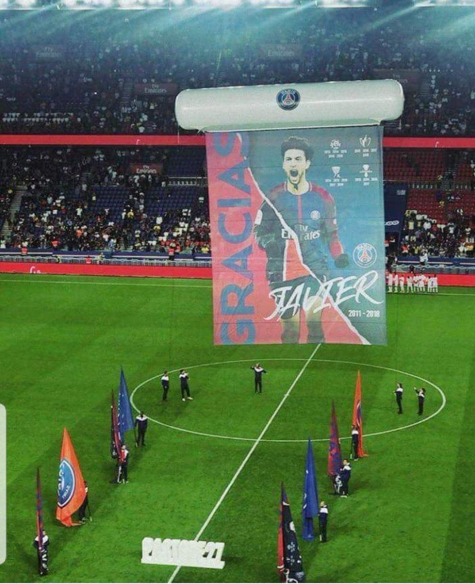 Il #PSG ha salutato #Pastore in questo modo qui. Ripeto: il #ParisSaintGermain. Avranno avuto, negli ultimi anni, dei calciatori importanti i parigini, no? Eppure, tributano al nuovo acquisto dell\