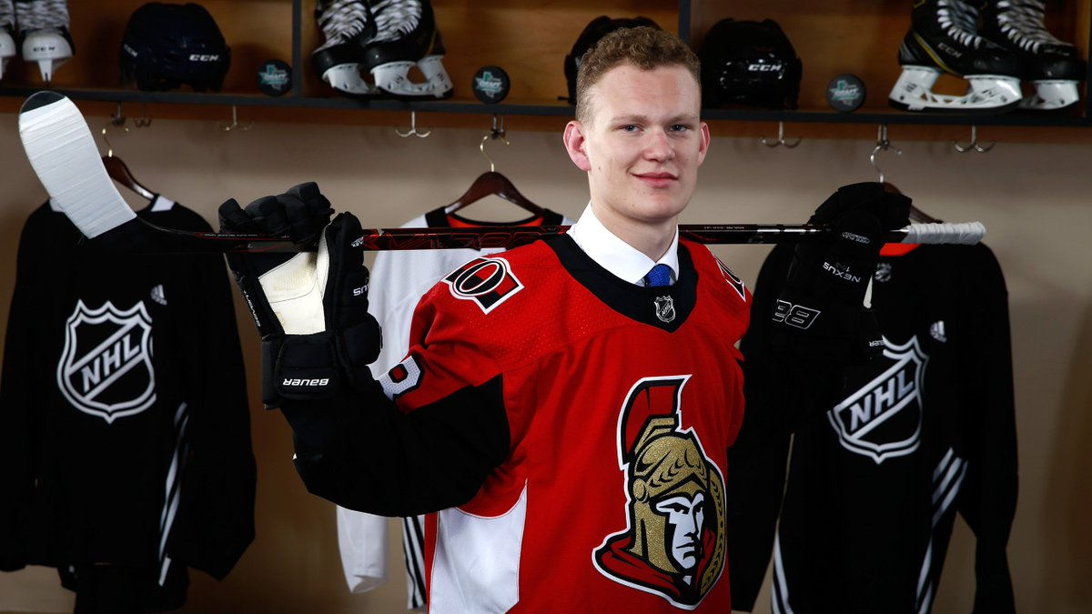 Ottawa Senators's photo on Brady Tkachuk
