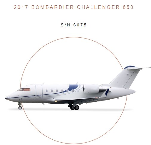 @JetcraftCorp presents 2017 #Bombardier #Challenger650 for sale! A premier #aircraft in prime condition! 24-month inspection completed 07/2018 12Pax  Viewfull specs at  http:// ow.ly/dtwd30lo475  &nbsp;    #bizjet #bizav #aircraftforsale #privateaviation #privatejet #privateflying<br>http://pic.twitter.com/1ruqIVtGAK