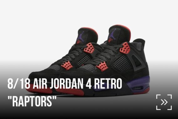 745f62f6537e Reservations of Air Jordan 4 Retro  Raptors  In-Store now open for Foot  Locker   Champs Sports Download app here FTL http   bit.ly 2OfONch ...