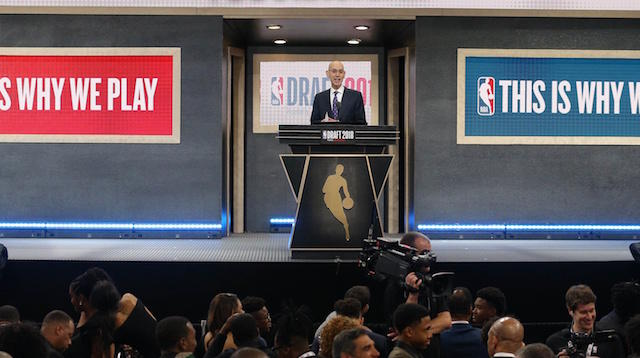 Rob Pelinka shared his thoughts on the NBA possibly making a change with the draft and free agency.  https://www. lakersnation.com/lakers-gm-rob- pelinka-open-moving-free-agency-before-nba-draft/2018/08/13/ &nbsp; … <br>http://pic.twitter.com/8Dxgij5G4G