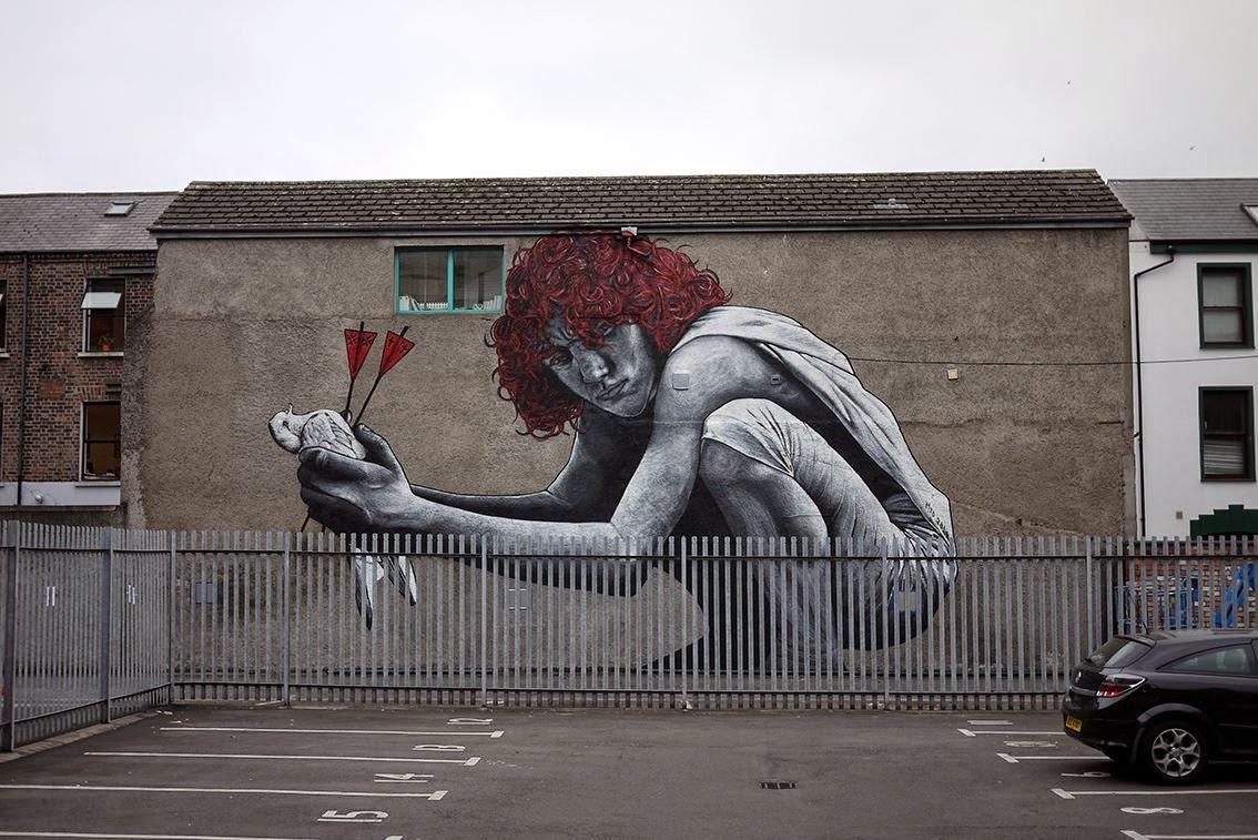 &quot;The Son of Protagoras&quot; | Mural by French artist MTO in Belfast, Northern Ireland  #streetart #urbanart #publicart #wallart #muralart #brickart #mural #graffiti #mto #belfast #northernireland    via StreetArtNews |  https:// goo.gl/3P1xUD  &nbsp;  <br>http://pic.twitter.com/d2Xqr9edUZ