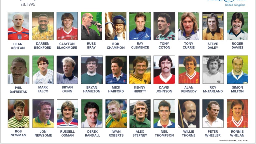 Next month, at this time, all these celebrities will be @barnhambroom playing in Norfolks biggest ever celebrity charity golf day @Dean36ashton10 @cgblackmore @Russ180 @BobChampion1981 @RayClem1 @CotonAnthony @cricketdaffy @falco_mark @MrGunny1963 @Mickharford @Milts25 @GDScore