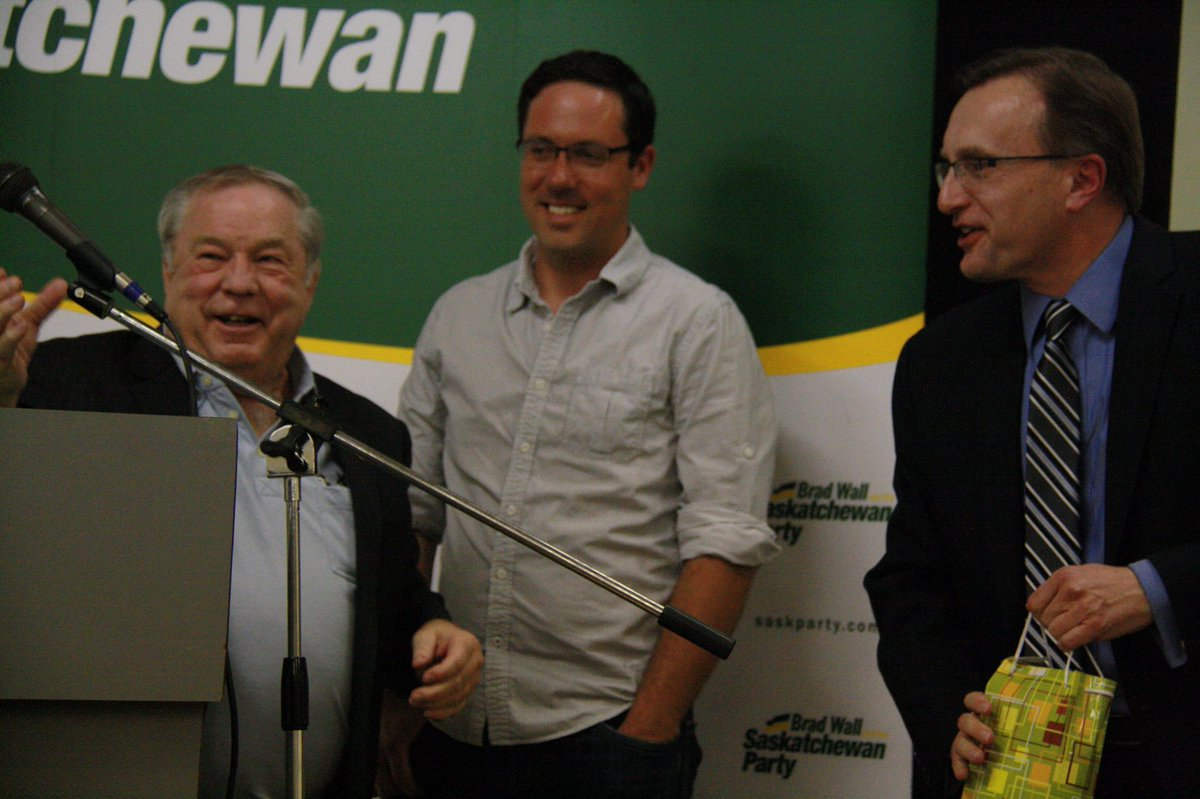 Rest In Peace Yogi.   Yogi Huyghebaert - Saskatchewan Party MLA 2000-2016.