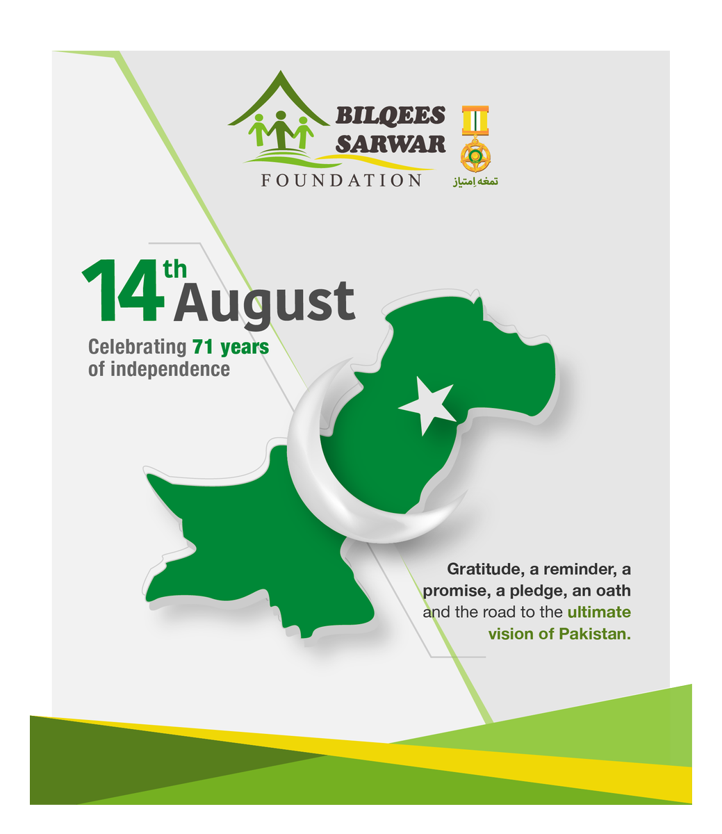 Bsfoundation On Twitter Celebrating With You The Pride Of Being A Pakistani Happy Independence Day