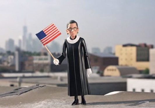 Justice Ruth Bader Ginsburg aka Notorious RBG is getting her own action figure this fall. I want! <br>http://pic.twitter.com/CJN7rAsLUO
