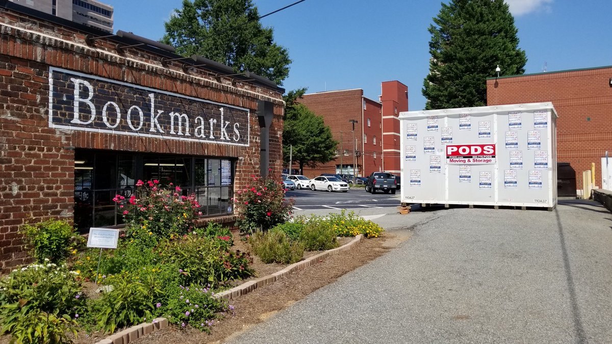We're getting serious about our storage for this year's Festival. Join us September 6-9 in downtown Winston-Salem!