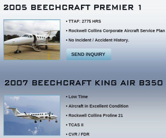 #Premier1 and #KingAir350 available immediately through Aerosource! Contact them for details of both airplanes at  http:// ow.ly/shGC30lo4RA  &nbsp;    #bizjet #bizav #aircraftforsale #privateaviation #privatejet #privateflying #jetforsale #businessaviation<br>http://pic.twitter.com/IiZSXjliN6