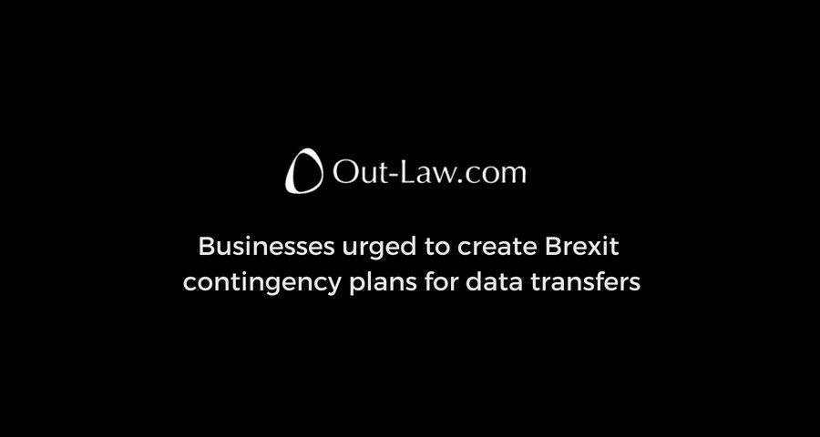 Businesses need to put in place contingency plans to address the possibility that the flow of #PersonalData between the UK and 27 other EU countries will be disrupted from the date of Brexit.  Via @outlawnews #GDPR #DataTransfer   https:// goo.gl/fjTtep  &nbsp;  <br>http://pic.twitter.com/eT6q2C9oSl
