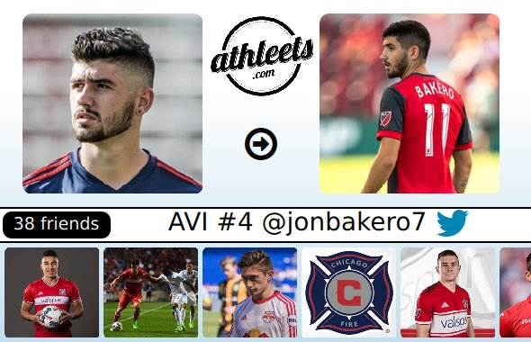 updates avi #4 for Jon Bakero #TFCLive Photo