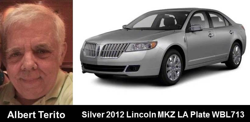 ACTIVE SILVER ALERT for Albert Terito from Beaumont, TX, on 8/13/18, Louisiana plate number WBL713 <br>http://pic.twitter.com/3cTGeh0ijE