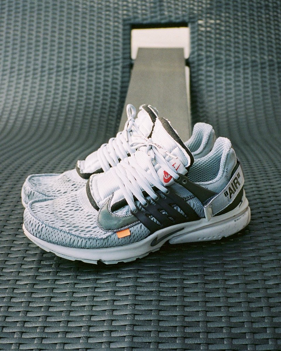 """6fe603033cee Here are our favorite off-white x nike air presto """"white"""" customs so ..."""