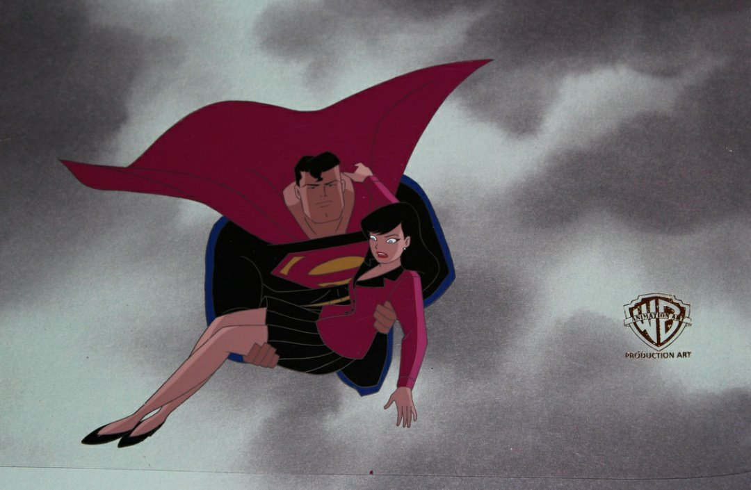 Production animation cel from Superman: the animated series <br>http://pic.twitter.com/NKDtShl36e