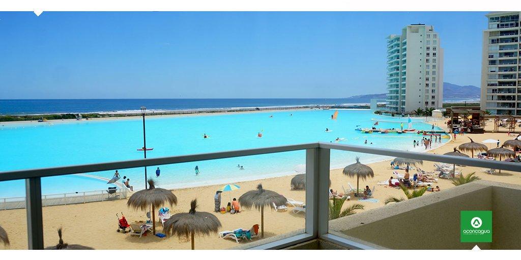 Ven a Laguna del Mar, La Serena y maravíllate con su laguna navegable de aguas cristalinas con una increíble vista al mar. Te esperamos: https://t.co/FzchpeTn73 https://t.co/hhI5AbYoqT