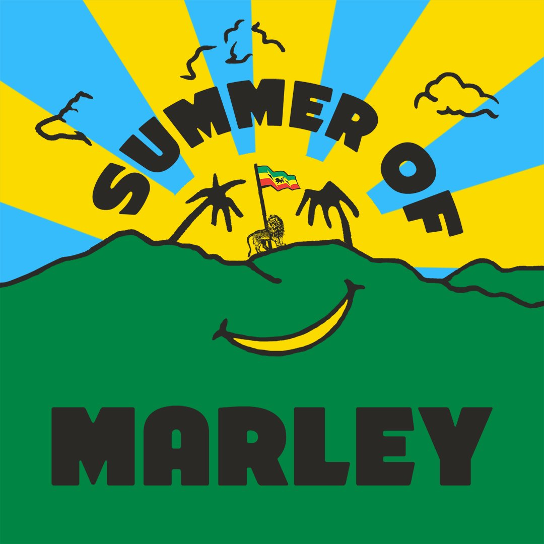 Celebrate the #SummerOfMarley with us @Spotify! Stream our This is #BobMarley playlist today: 🎵🎶 smarturl.it/summerofmarley 🎶🎵